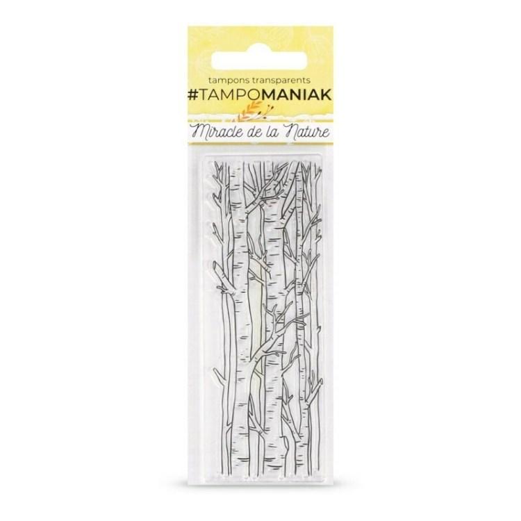 Set de tampons clear Dans les bois - 13x5,5cm