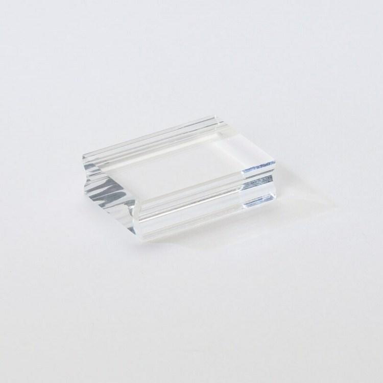 Bloc acrylique pour tampon clear - 5x3,5 cm