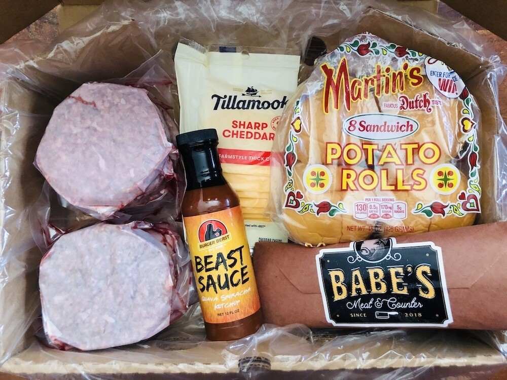 Father's Day Burger Beast Box