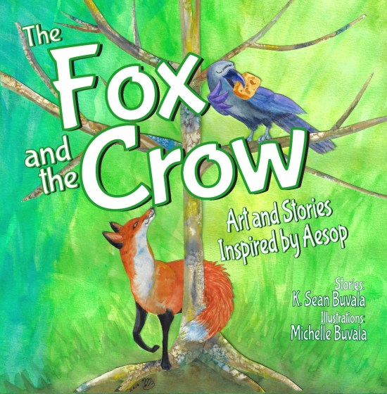 The Fox and the Crow: Art and Stories Inspired by Aesop BookFoxAnd