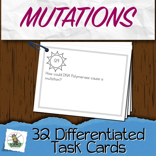 Mutations Task Cards