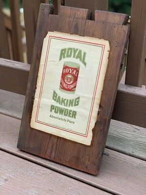 Vintage Advertising, Vintage Wall Art, Reclaimed Wood