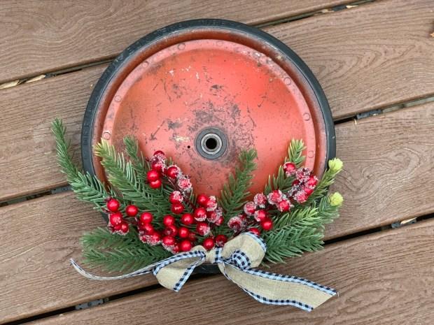 Christmas Wreath, Christmas Decor, Vintage Christmas