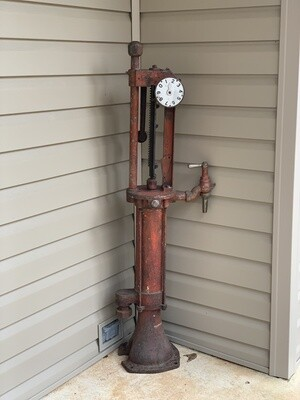 Tokheim Kerosene Pump, Vintage Porch Decor