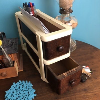 Mail and Key Organizer, sewing drawers