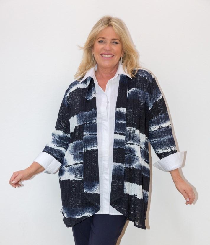 Kiley - Long Sleeve Swing Jacket