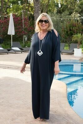 Pheobe - Jersey Kaftan Cover-Up Dress