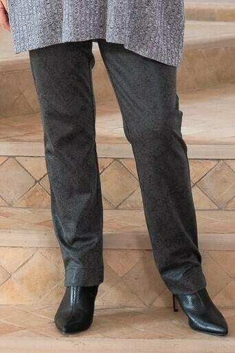 Pila - Snake Print Stretch Trousers