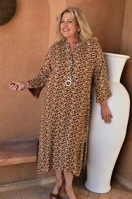 Raissa - Bright print long Tunic/Dress