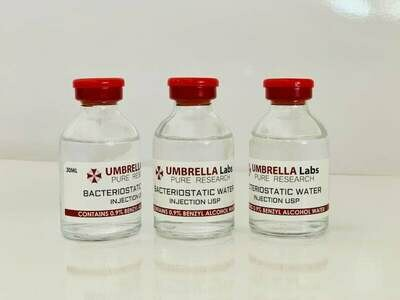 BACTERIOSTATIC WATER 30ML BOTTLE FOR PEPTIDES
