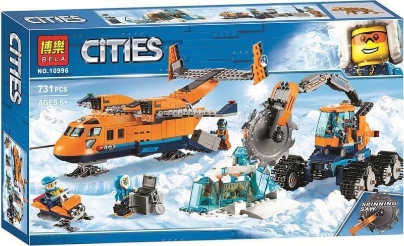 Конструктор City Арктический грузовой самолёт  731 дет. BELA 10996