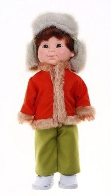 Интерактивная кукла Митя на севере 34 см. Весна В2301/о