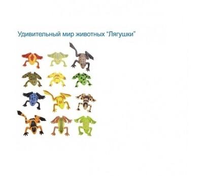 Игровой набор Tongde Лягушки 12шт. 1126947