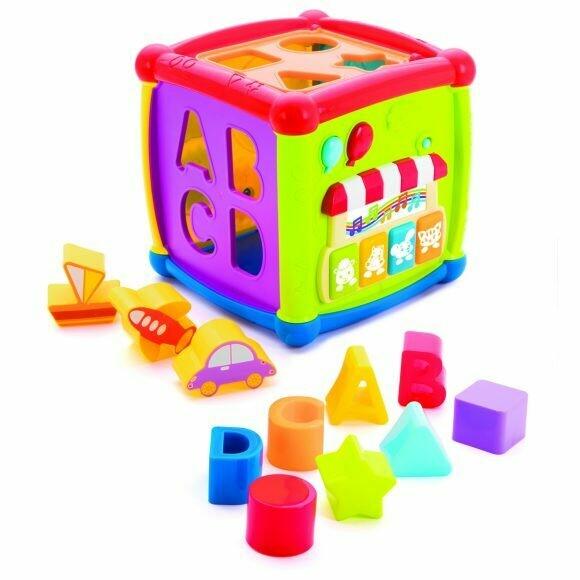 Игрушка развивающая Жирафики Суперкуб 939602