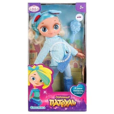 Кукла Cказочный патруль Снежка в зимней одежде Карапуз SP0117-M-RU-W