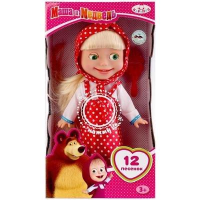 Кукла Маша и медведь 30 см. Карапуз Y83030B