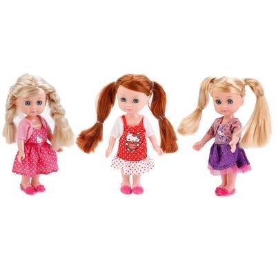 Кукла машенька 15 см. Карапуз MARY201X-HK