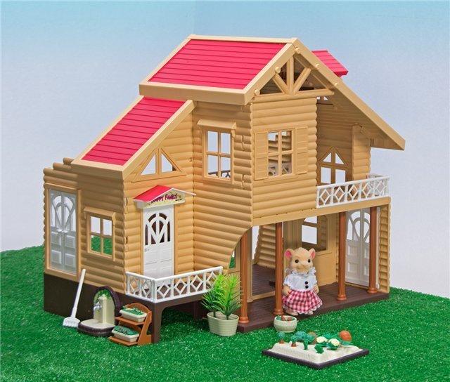 Кукольный Загородный домик Happy family 012-03
