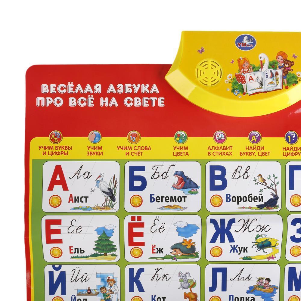 ГОВОРЯЩИЙ ПЛАКАТ АЗБУКА С.МАРШАК УМКА HX0251-R7