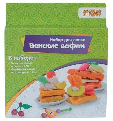 Набор для лепки из теста Венские вафли Color Puppy 637006