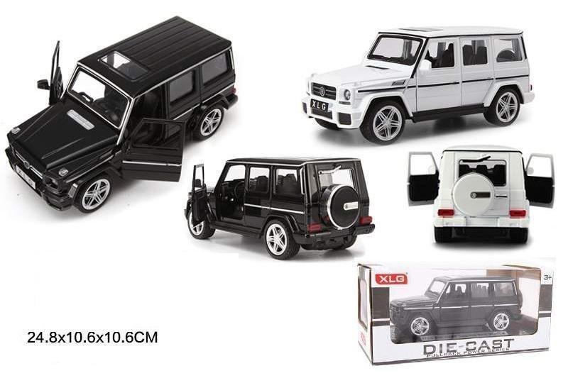 Автомобиль металлический MERCEDES BENZ G-CLASS 1:24 XLG M923K