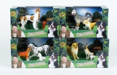 Набор собачек Симбат Играем Вместе 9517-1-2-3-4