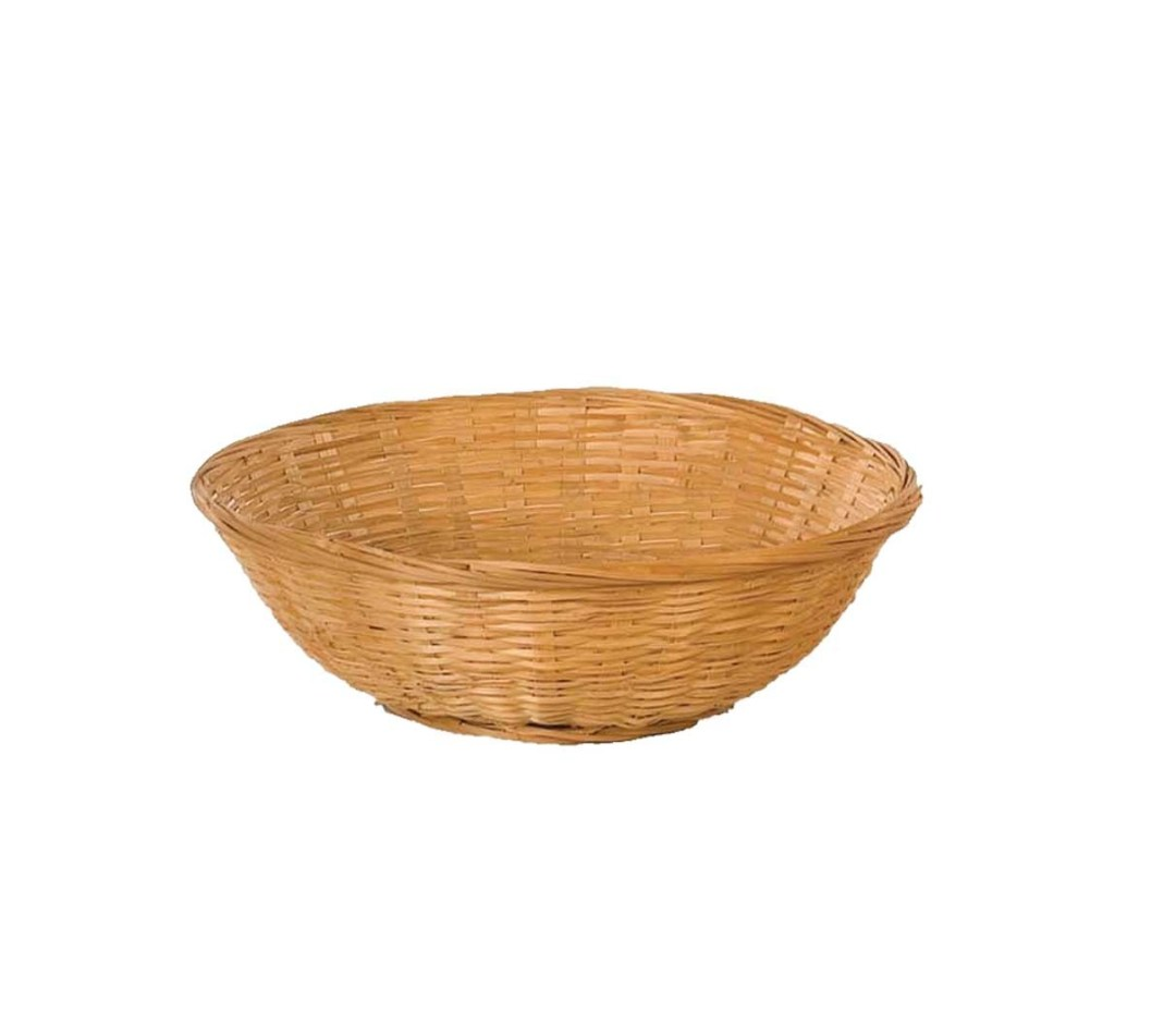 "MS1756-12 - 12"" Round Bun Basket MS1756-12"