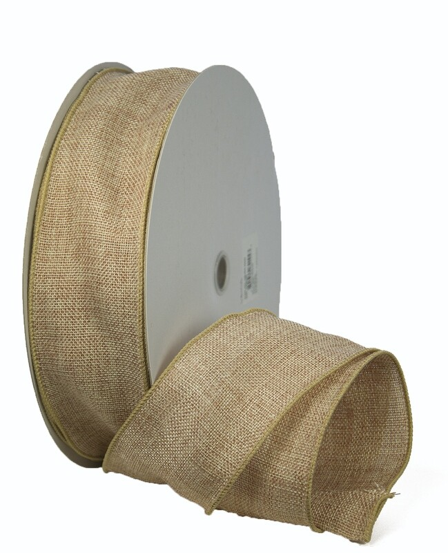 ​VBUR40 - #40 Wired burlap ribbon
