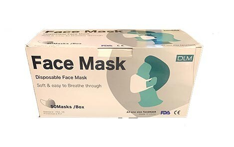 GB-T32610-2016 - FDA Approved medical face protective masks 50 count per box. Minimum Order: 2 boxes. While supplies last. That's only .89 per mask!