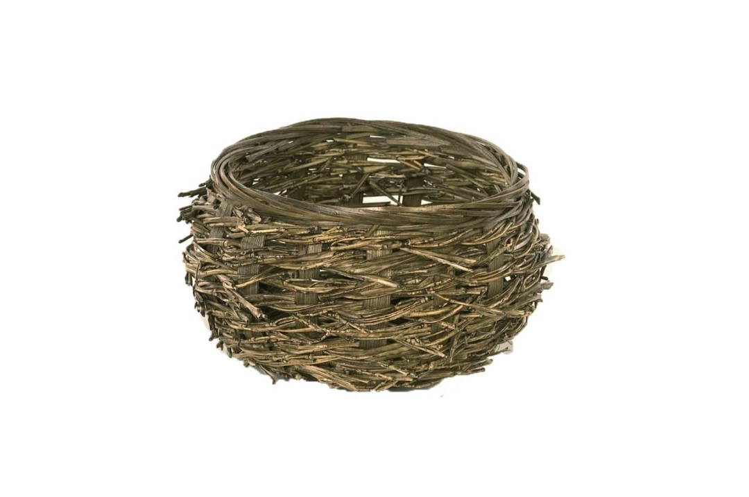 "MS1150 - Dark Twig Birds Nest (5"" Opening) $2.00 each Liners Included MS1150"