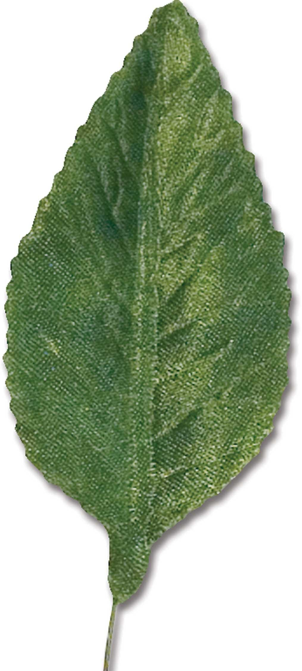 """1000GRN - 2"""" Green Wired Corsage leaves 1000GRN"""