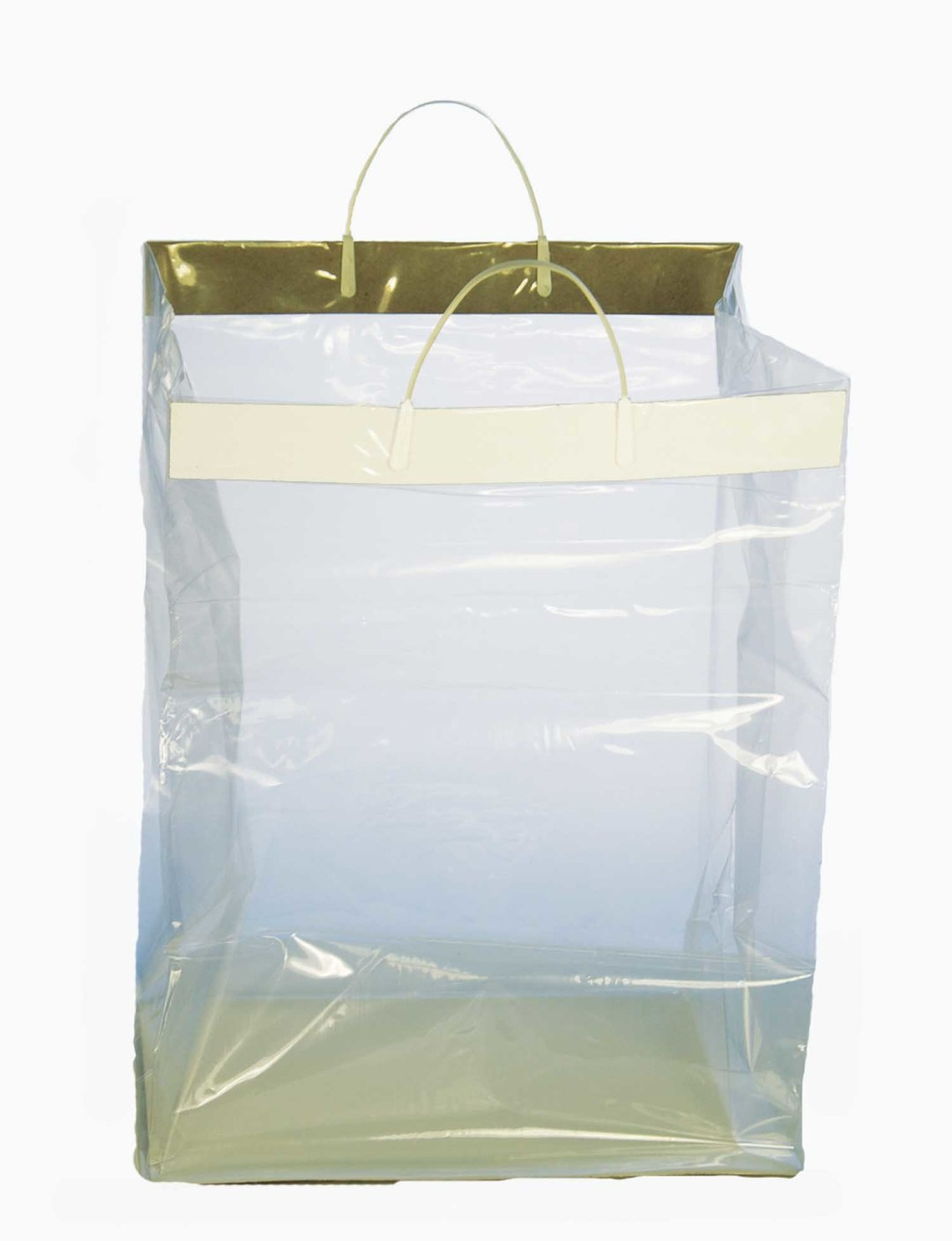 "FS6002 - Heavy Poly Shopping Bag 13"" X 11"" X 19"" Tall Pack of 100 $114.00 FS6002"