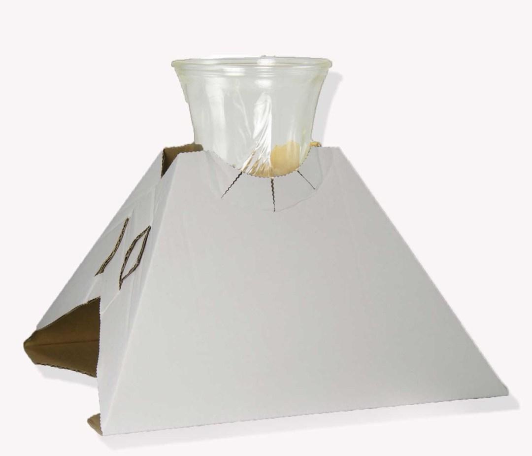 "BX210 - 10"" X 12"" Corrugated Pyramid Box Unwaxed 100pc/box $81.00 BX210"