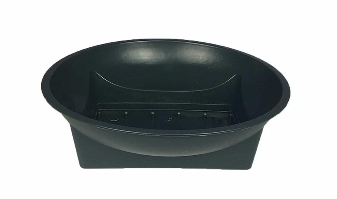 "PL301G - 6"" Green Round Plastic Design Bowl $19.95 PL301G"