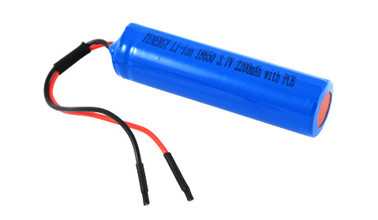 Baterie cilindrica Li-ion 3.7V 18650 2200mAh