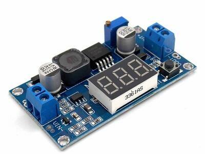 Modul ridicator tensiune DC XL6009 cu display, 5-52V, 4A