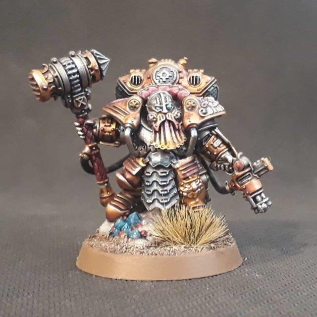 Kharadron Overlords: Arkanaut Admiral WHAOS-KOAA