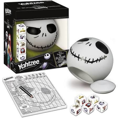 Nightmare Before Xmas Yahtzee