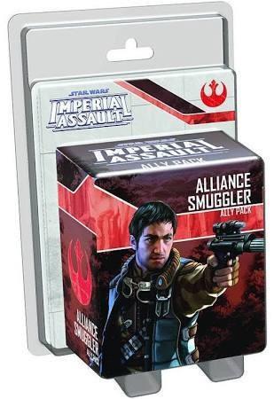 Star Wars Imperial Assault Alliance Smuggler