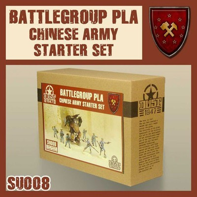 Dust 1947-Chinese Army Starter Battlegroup Pla
