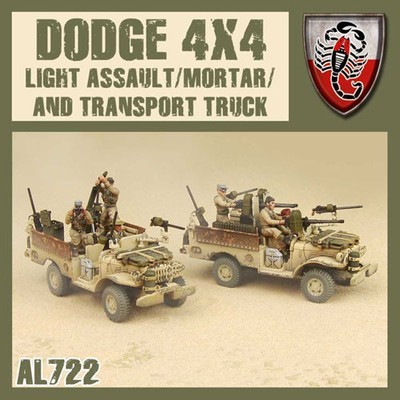 Dust 1947-Dodge 4x4/Light Assault/Mortar/Transport Truck