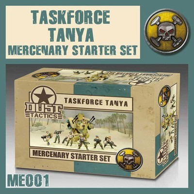 Dust 1947-Mercenary Starter Set Taskforce Tanya