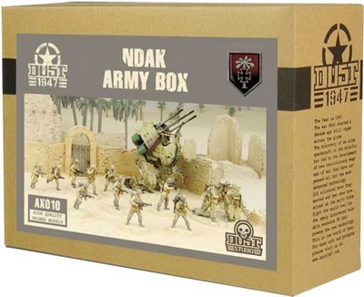 Dust 1947-NDAK ARMY BOX