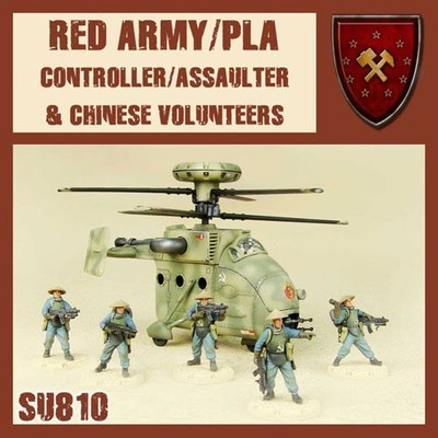 Dust 1947-Red Army/pla Controller/Assaulter & Chinese Volunteers