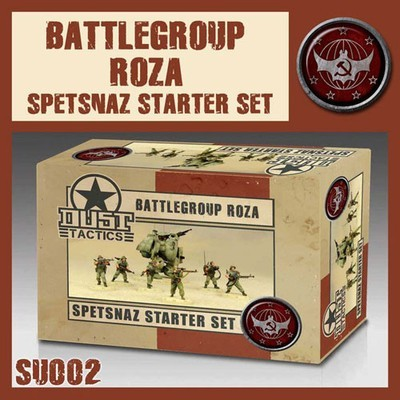 Dust 1947-Spetsnaz Battlegroup Roza