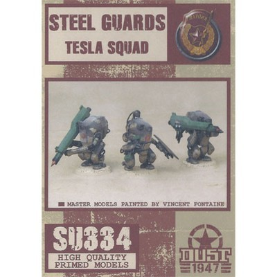 Dust 1947-Steel Guards Tesla Squad