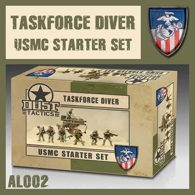 Dust 1947-Taskforce Diver USMC Starter Set