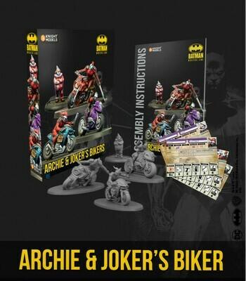 Batman Archie & Joker`s Bike