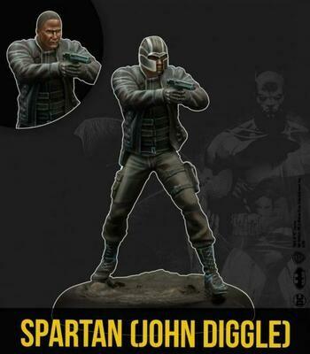 Batman Spartan John Diggle