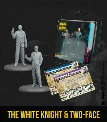 Batman The White Knight & Two Face